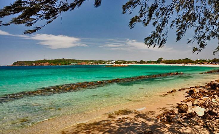 Tangalle plaža na Šri Lanci