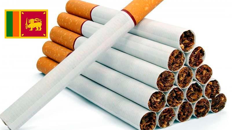 Cene cigareta na Šri Lanci