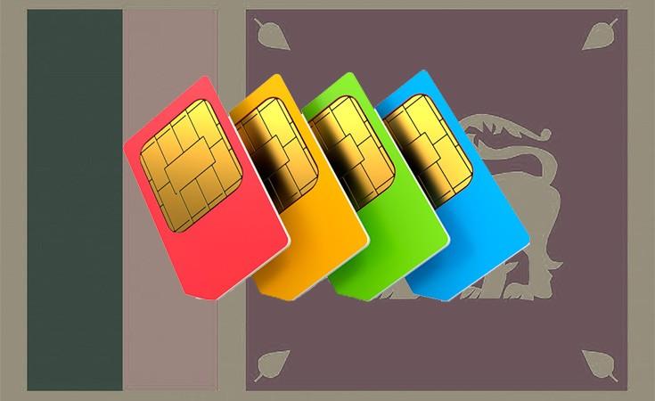 Internet i sim kartice Šri Lanka