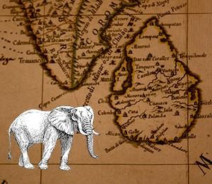 Mapa Šri Lanke