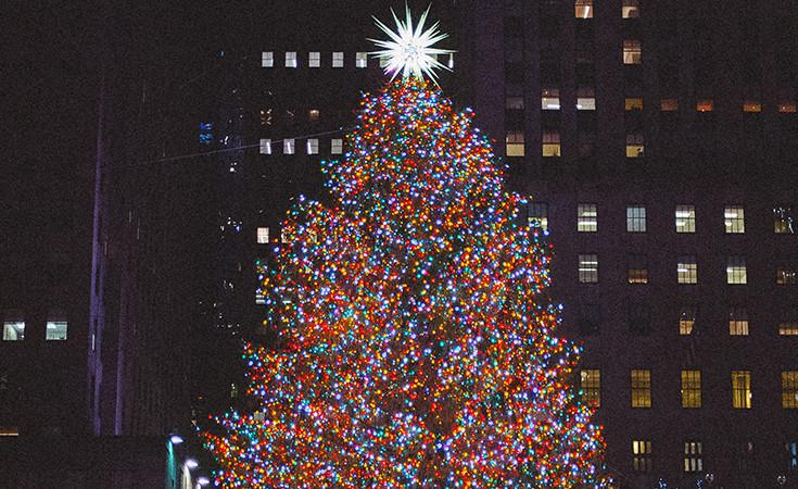 Božićno drvo ispred Rokfeler centra